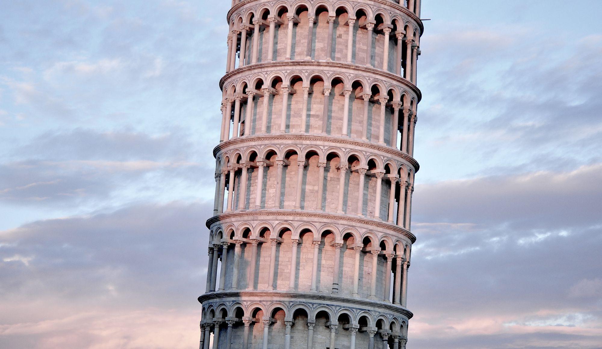 tour penchée de Pise à Pise en Italie