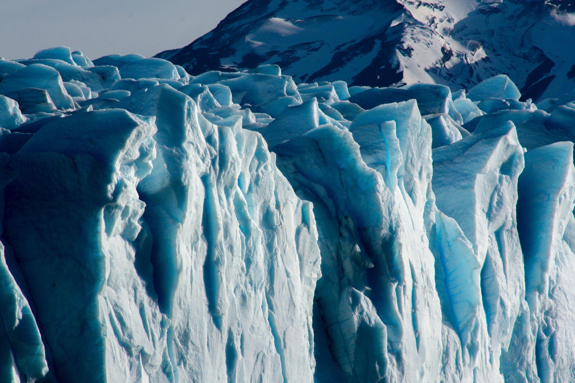 glacier de Calafate dans la région de la Patagonie en Argentine